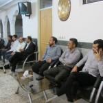نشست ائمه جماعات ، هیئت امناء و مسئولین پایگاههای شهرستان دلیجان به روایت تصویر