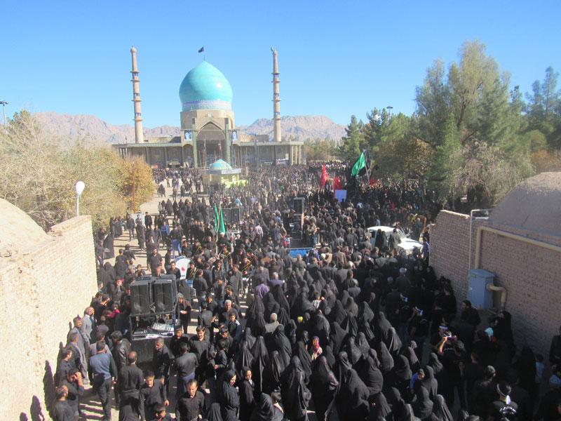 کاروان صادقیه رفسنجان جلوه ای از تکریم مقام عالی امام صادق علیه السلام در کشور